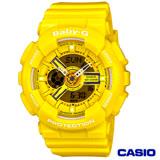 CASIO卡西歐 Baby-G 個性活力搶眼指針數位雙顯錶 BA-110BC-9A