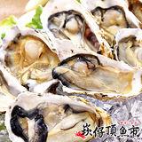 【崁仔頂魚市】本港活凍生蠔4件組(1000g/包)