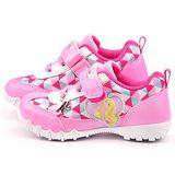 童鞋城堡-Barbie芭比 中大童 幾何圖形運動鞋BR6801-粉
