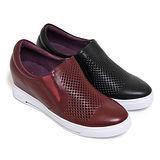 【GREEN PHOENIX】BIS-VITAL 套入式義大利牛皮內增高休閒鞋