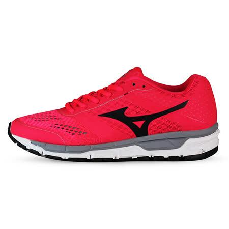Mizuno 女 慢跑鞋 MIZUNO SYNCHRO MX (W) 美津濃 慢跑鞋 紅 J1GF161913 -friDay購物 x GoHappy