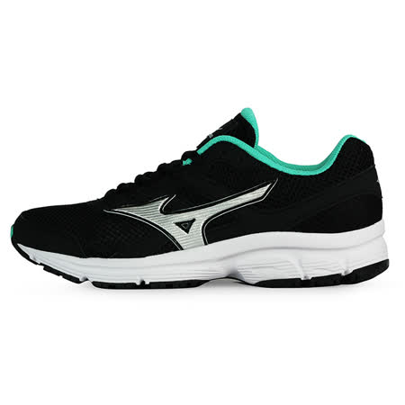 Mizuno 女 慢跑鞋MIZUNO SPARK (W) 美津濃 慢跑鞋 黑 K1GA160404 -friDay購物 x GoHappy