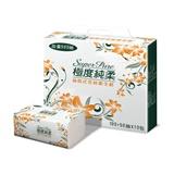 【Super Pure 極度純柔】抽取式花紋衛生紙150抽x60包/箱