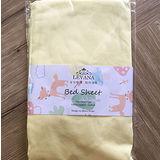 LEVANA-有機棉包覆式床包(黃色)
