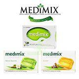 美黛詩 MEDIMIX 印度綠寶石皇室藥草浴 美肌皂 125g-多款組合任選24入