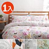 【任選1入】美夢元素 台灣製精梳棉 床包組-雙人加大三件式