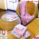 【クロワッサン科羅沙】日本ISSO ECCO今治(imabari towel)~無撚心月方巾 34x35cm