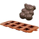 《IBILI》八格巧克力模(小熊)