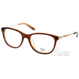 Anna Sui 光學眼鏡 唯美小鑽飾款 (透棕-金) #AS690-1 C187