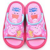 童鞋城堡-粉紅豬小妹 佩佩豬 中童 戶外拖鞋PG0012-桃