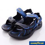 GOODYEAR戶外鞋-強力磁扣運動涼鞋-MS63616藍(24cm~28cm)