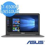 (福利品)ASUS UX510UX 15.6吋FHD /i7-6500U /1TB+128G SSD/GTX 950M獨顯 美型電競筆電(金屬灰)