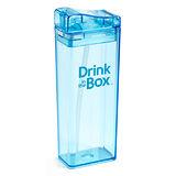 【Drink in the box】Tritan兒童運動吸管杯(大)-果凍藍