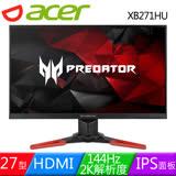 Acer 宏碁 Predator XB271HU 27型IPS面板144Hz G-SYNC電競螢幕
