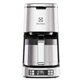 買就送【Electrolux 伊萊克斯】 設計家系列 美式咖啡機 ECM7814S 贈磨豆機ECG3003S