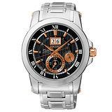 SEIKO 精工 PREMIER 新古典主義紳士腕錶/42mm-7D56-0AB0K國際碼:SNP098J1