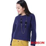 BOBSON 女款搭配蕾絲布上衣  (35075-57)