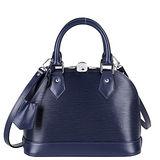 Louis Vuitton LV M40855 ALMA BB EPI 水波紋迷你手提斜背艾瑪包.靛藍 預購
