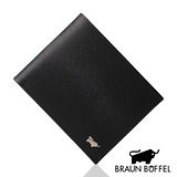 BRAUN BUFFEL 提貝里烏斯系列8卡短夾(黑色)BF166-314-BK