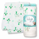 加拿大lulujo竹纖維嬰兒包巾-花火小樹