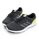 adidas (男) 慢跑鞋 黑/黃 AQ2189
