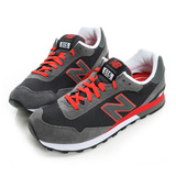 New Balance 男鞋 經典復古鞋 黑灰紅 ML515SLA