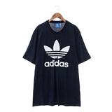 Adidas 男 圓領短T 深藍色AY7710