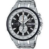 CASIO 卡西歐 EDIFICE 經典三針三眼設計時尚腕錶/50.3mm/EFR-549D-1B