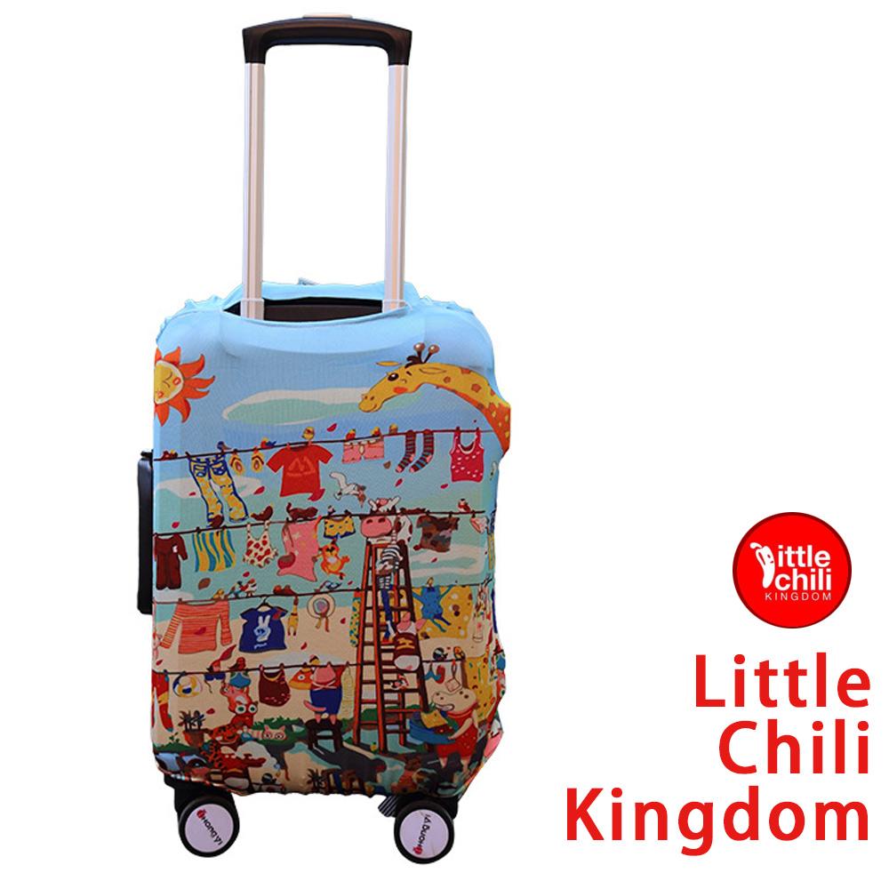 LittleChili行李箱套512-歡樂動物M