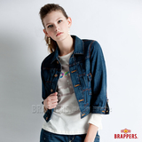 BRAPPERS 女款 Boy Friend外套系列-女用八分袖外套-藍