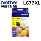 Brother LC77XL 黃色 原廠墨水匣