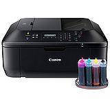 Canon PIXMA MX477無線傳真多功能相片複合機+有線連續供墨