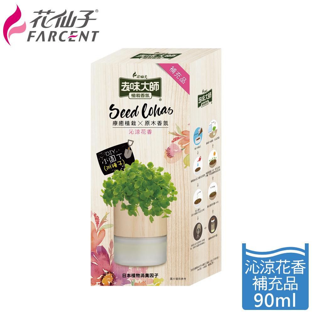 【去味大師】植栽香氛補充瓶-沁涼花香 FF4561PXF
