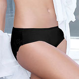 【黛安芬】逆齡Bra纖體蕾絲系列內衣M-EL中腰內褲(歌德黑)