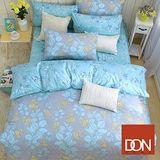 《DON微戀季節》單人三件式蜜絲絨全舖棉兩用被床包組