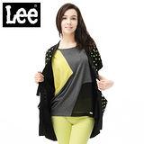 Lee 針織外套 短袖點點-女款(黑)