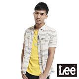 Lee 短袖襯衫 雙層布格紋-男款(多色)
