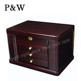 【P&W珠寶收藏盒】【手工精品】木質鋼琴烤漆 首飾盒 收納盒