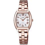 WIRED F 太陽能 綻放時刻優雅女用腕錶(AZ3004X1)-銀x玫瑰金/25mm/V137-X001K