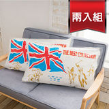 (兩入組)【AGAPE亞加‧貝】《MIT台灣製造-英國品牌抗菌Q彈壓縮枕》超Q彈透氣柔軟舒適 可水洗