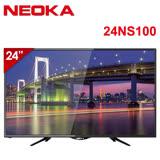 [促銷]NEOKA (TOSHIBA副牌) 24吋Full HD抗藍光LED液晶顯示器+視訊盒(24NS100)