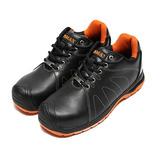 (男) PAMAX 止滑彈力氣墊安全鞋 黑 鞋全家福