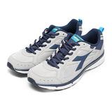 (男) DIADORA 輕量慢跑鞋 灰藍 鞋全家福