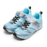 (中大童) MOONSTAR SUPERSTAR輕量運動鞋 淺藍 鞋全家福