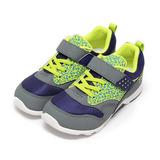 (中童) MOONSTAR TSUKIHOSHI多功能運動鞋 藍灰 鞋全家福