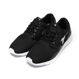 (女) DIADORA DA3370 休閒輕量慢跑鞋 黑白 鞋全家福