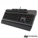 B.Friend MK3-BK ARMOR 有線單色背光機械鍵盤-灰