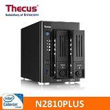 Thecus 色卡司 N2810Plus 網路儲存伺服器