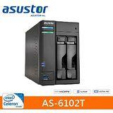 ASUSTOR 華芸 AS-6102T 2Bay 網路儲存伺服器