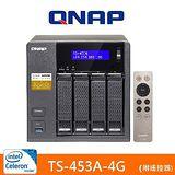 QNAP 威聯通 TS-453A-4G 網路儲存伺服器